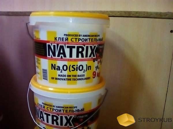 Фото - Клей строительный Natrix (Стенотек), ведро 9кг